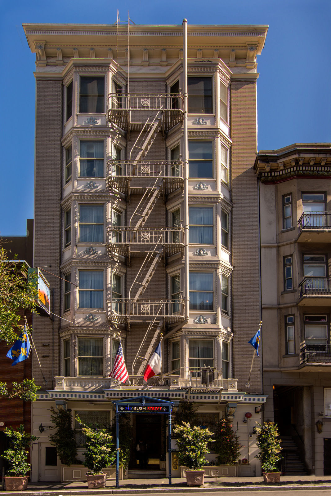 Cornell Hotel De France A French Boutique In The Heart Of San Francisco